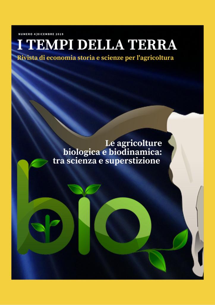 Copertina: Le agricolture biologica e biodinamica: tra scienza e superstizione